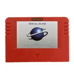NEUE-ALLE-IN-1 Cartriage Action replay Karte mit Direkte lesen 4M Accelerator Goldfinger funktion 8MB speicher Für Sega Saturn