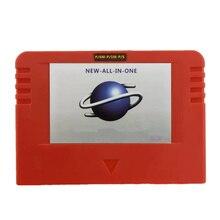 NUOVO ALL IN 1 Cartriage Action replay Card con funzione di lettura Diretta 4M Acceleratore Goldfinger 8MB di memoria Per Sega Saturn