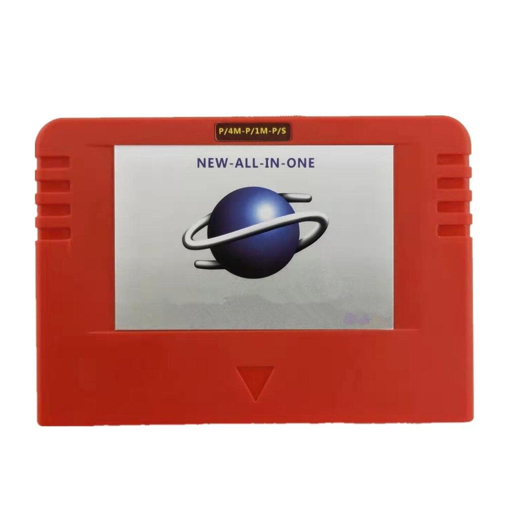 Nouveau-tout-en-1 cartouche Action replay carte avec lecture directe 4M accélérateur Goldfinger fonction mémoire 8 mo pour Sega Saturn