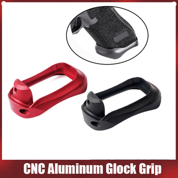 Tactical CNC Aluminum Glock Grip Adapter Magwell for Glock 17 22 24 31 34 35 37 Gen 1-4 Base Pad Hunting Caza Dropshipping