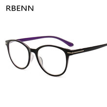 Очки для чтения RBENN для женщин и мужчин, модные пресбиопические очки с диоптриями + 0,5 0,75 1,25 1,75 2,25 2,75 3,25 3,75 4,5