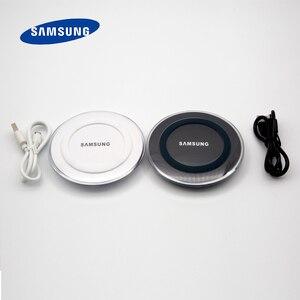 Image 3 - Samsung Galaxy S6 Qi Wireless Charger 5V/2Aชาร์จอะแดปเตอร์สำหรับS7 Edge S10e S10 S9 S8 Plusหมายเหตุ5 8 9 Iphone 8 Plus X XS X Mi9