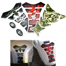 FOR HONDA hornet 250 600 900 cb600f integra 750 joker lead 100 110 50 90 magna 3D Car Motorcycle Gas Fuel Tank Pad Sticker(China)