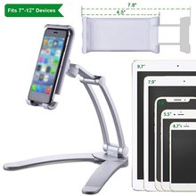 Multifunctional Kitchen Tablet Stand Wall Desk Tablet Mount