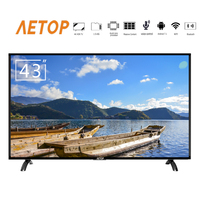 free shipping tv smart 4k ultra hd android led 43 inch television flat screen tv with cheap price