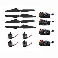 T Motor Air Gear 450 Power Air2216+T1045 Combo AIR2216 880KV 4 Motor+4 1045 Propellers + Platinum 30A ESC for DIY RC FPV Drone