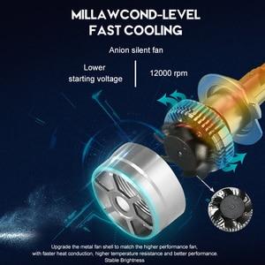 Image 5 - CNSUNNYLIGHT 70 w/para LED H7 H11 H8 reflektor samochodowy 9005 9006 H4 Hi/Lo bi led żarówki H1 500% jaśniejsze Auto samochody światła 6000K