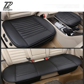 ZD 2018 NEW Pu Leather Car Styling Seat Pad Cushion Covers For Mercedes Benz W203 W211 W204 W210 AMG BMW F10 E34 E30 F20 X5 E70 image