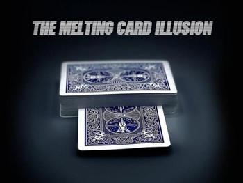 melting card illusion by Calen Morelli - magic tricks gypsy queen by asi wind magic tricks