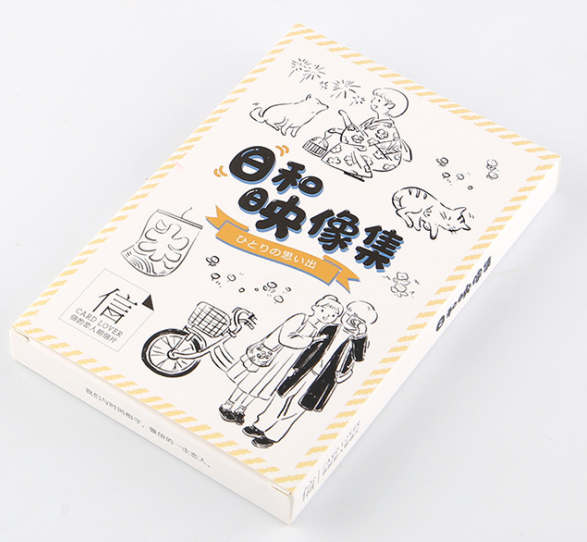 White Time Paper Postcard(1pack=30pieces)