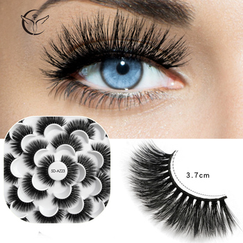 Mink eyelashes 3d mink hair eyelashes10 pairs long makeup 3d faux nature fake lashes extension false eyelashes Wholesale (10P) 3