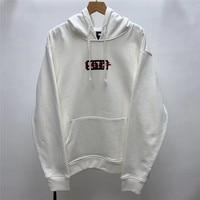 Flocking Box Logo kith Hoodie Men Women 1:1 High quality Sweatshirts Tokyo exclusive opening KITH Pullover Hoody