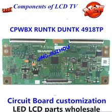 цена на LED TV T_CONNew original 40ce770led logic board cpwbx runtk duntk 4918tp T_CONTCON