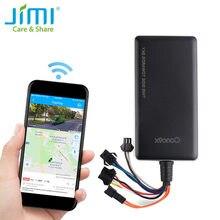 Gps tracker concox gt06n com sos monitoramento de voz corte motor gasolina e quilometragem estatísticas alarme de vibração geo-cerca app pc