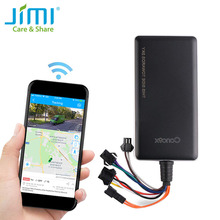 GPS Tracker Concox GT06N with SOS Voice Monitoring Cut-Off Engine Petrol and Mileage Statistics Vibration Alarm Geo-Fence APP PC