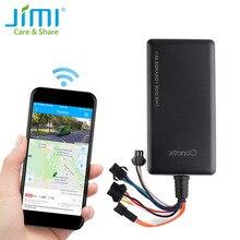Gps tracker concox gt06n com sos monitoramento de voz corte motor gasolina e quilometragem estatísticas alarme de vibração geo cerca app pc