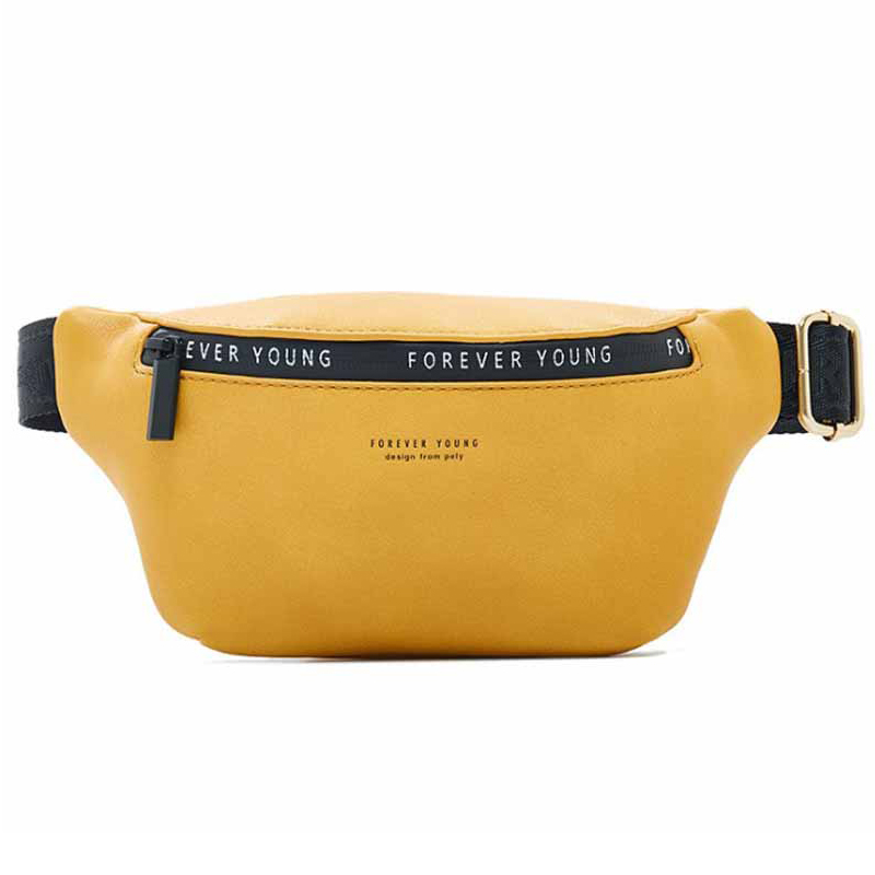 New High Quality Women Fashion Belt Bag  Large Capacity Waist Pack  Leather Waist Bags Pocket Bags Multifunction Chest Bag