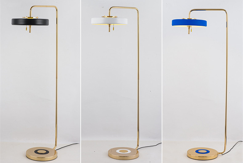 Nordic Modern Led Revolve   Tripot Floor Lamp Design Green Glass Denmark Version Opal Study Living Bed Room Floor Lamp