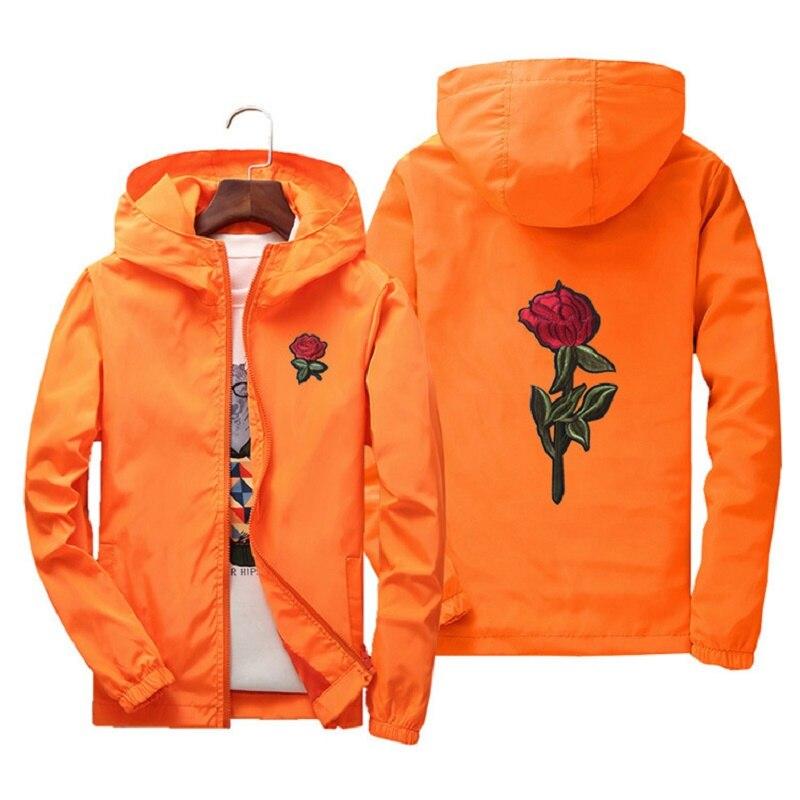 Asstseries куртка ветровка для мужчин и женщин розовая куртка для колледжа весна осень модная куртка мужская куртка с капюшоном