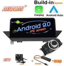 AISINIMI 안 드 로이드 9.0 4G 64G 자동차 플레이어 BMW X1 E84 (2009 2015) 에 대 한 자동차 오디오 gps 스테레오 스크린 모니터 자동차 멀티미디어 모두 하나의