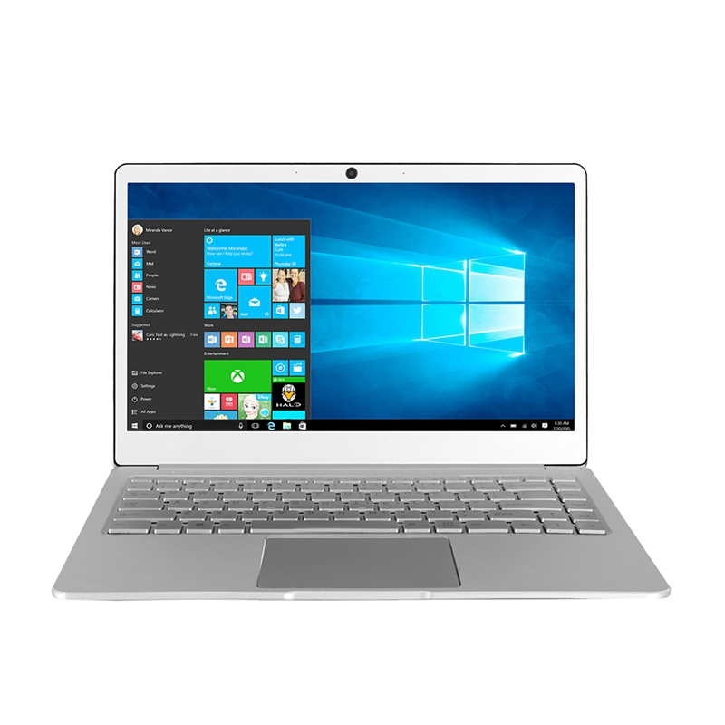 Jumper Ezbook X4 Laptop 14 Inch Bezel-Less Ips Ultrabook In-tel Celeron J3455 6Gb Ram 128Gb Rom Notebook 2.4G/5G Wifi with Back image
