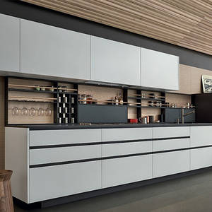 Modern I-shape bar kitchen designs