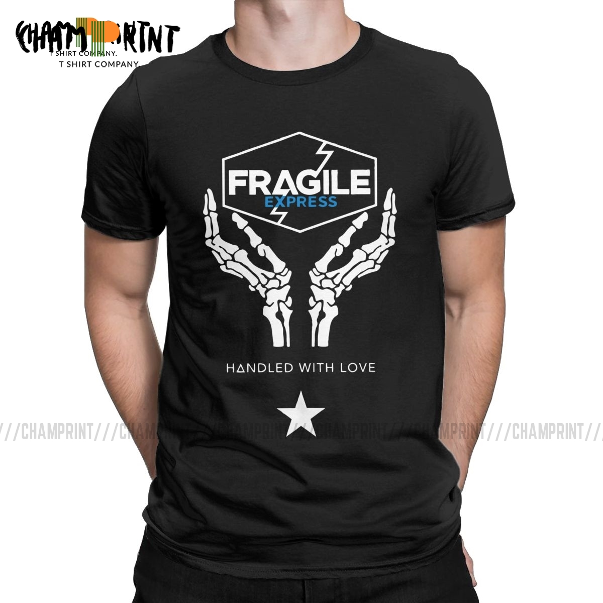 Death Stranding Fragile Express Men's T Shirts Kojima Productions Novelty Tees Short Sleeve T-Shirts Birthday Gift Clothes