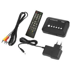 1080P Full HD SD/MMC TV Videos SD MMC RMVB MP3 Multi TV USB HDMI Media Player with Remote Control MKV 1080P (full-hd) USB 2.0