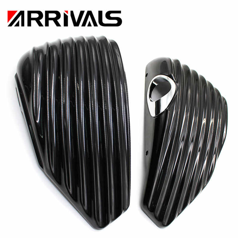 Motorfiets Cover Covers Side Frame Guard/Side Batterij Cover Cap Voor Harley Sportster 883 1200 XL 2004-2013