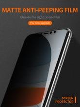Protetor de tela privado de ellietech para iphone, anti spy vidro temperado para iphone 12, 12pro,12promax,mini.