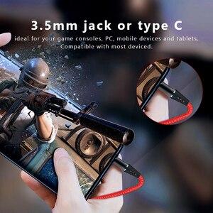 Image 3 - PS4 ためハンズフリー有線ヘッドフォンゲーミングヘッドセット 7.1 サラウンド低音イヤホンとノイズキャンセリングイヤホンマイクイヤフォン