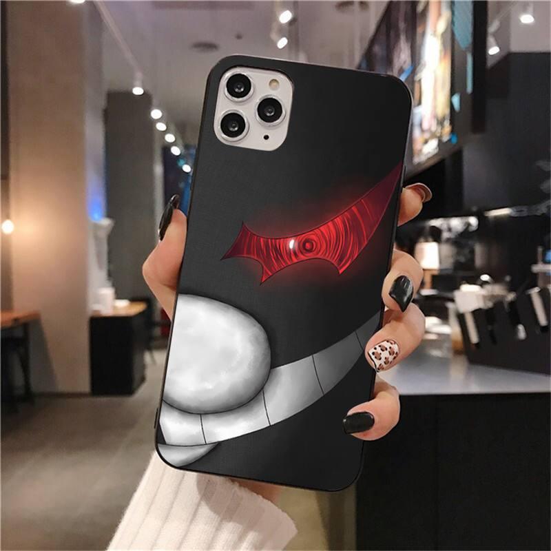 Danganronpa Phone Case - Monokuma Soft Silicone Black Phone Case