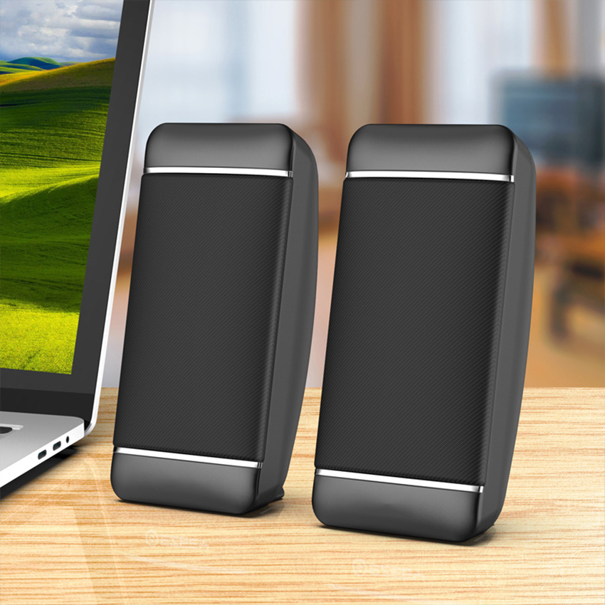 Portable Computer Speakers, USB Powered Desktop Speakers with Stereo Sound, Stereo Speakers for Notebook Laptop Computer PC|Portable Speakers| - AliExpress