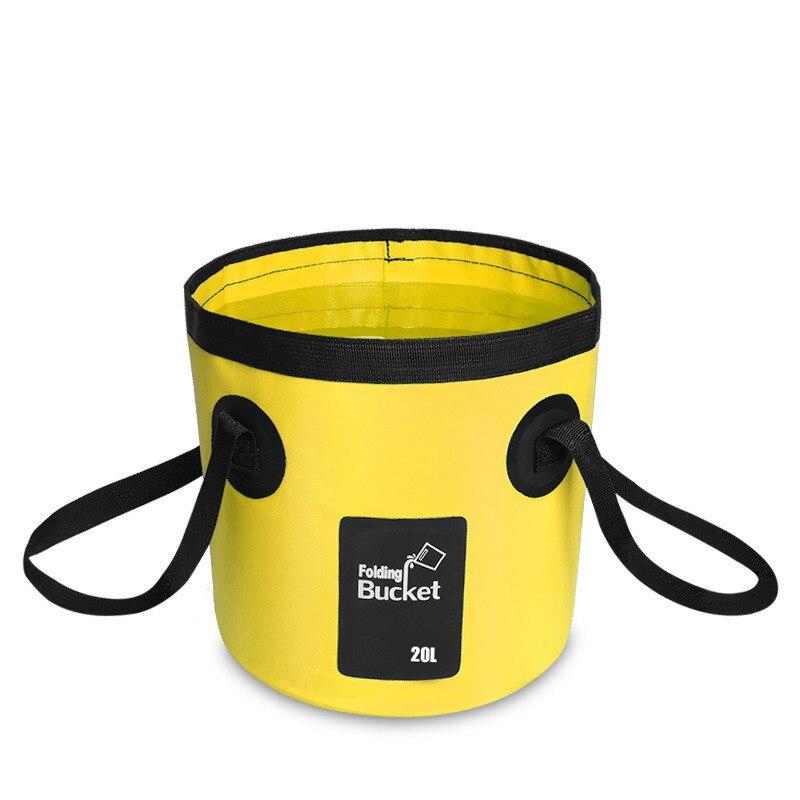 12л 20л Портативная сумка для хранения воды сумка для хранения водонепроницаемая сумка для воды складная сумка для рыбалки MJ0703