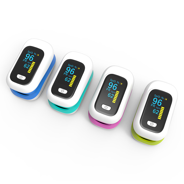 BOXYM OLED Finger Pulse Oximeter Oximetro de dedo blood oxygen Heart Rate Saturation Meter Saturometro Monitor CE 3