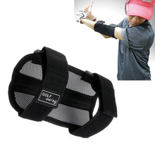 Golf-Swing-Trainer Corrector Straight Gift Practice-Elbow for New Black Brace Nylon 1pc