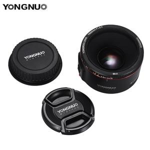 Image 5 - Стандартный основной объектив YONGNUO YN50mm F1.8 II, Большая диафрагма, автофокус 0,35, минимальное фокусное расстояние для Canon EOS 5DII 5diii 5DS 5DSR