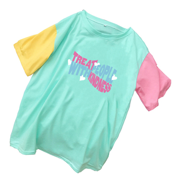 Harry Styles Treat People With Kindness Woman Tshirts Casual Harajuku HARRY STYLES THEMED T Shirts Women New Spell Color Clothes - discount item  29% OFF Tops & Tees