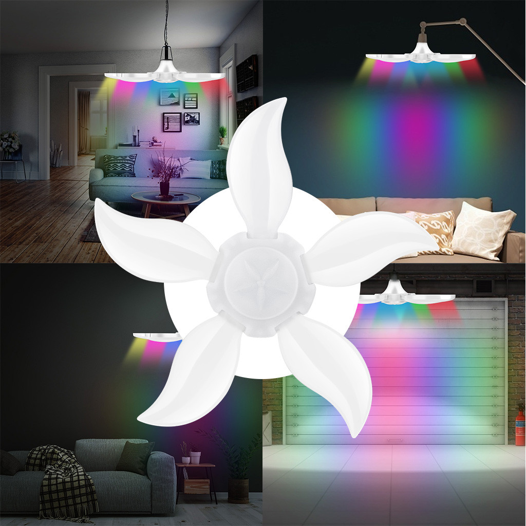Lights Home Ceiling Fixture Deformable