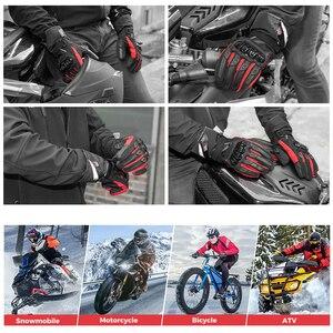 Image 5 - KEMiMOTO אופנוע כפפות גברים רכיבה על אופניים הרי אופני Guantes מוטוקרוס Luvas מגע מסך Moto כפפות גברים אביב קיץ החורף