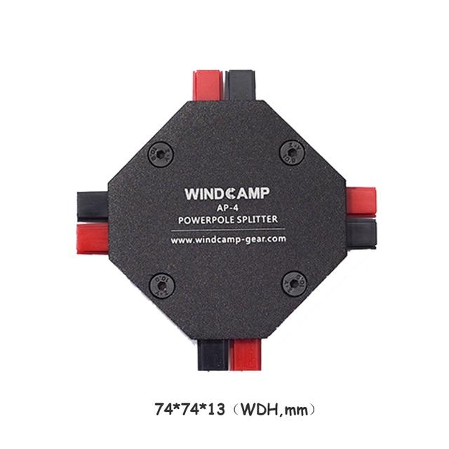 AP 4 30A Powerpole Splitter 4 CH Voeding Distributeur Ham Radio