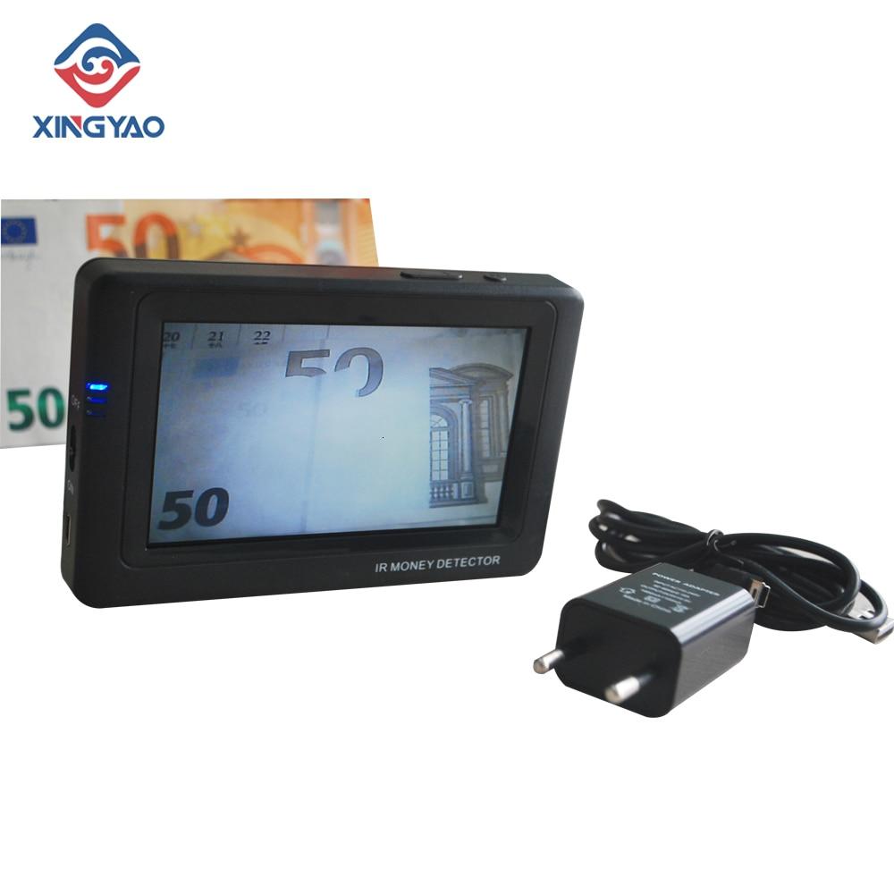 Ir Infrared Camera Money Detector Portable Cash Currencies Detector Mini Banknote Detector