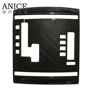 Image 4 - 炭素繊維の色自動内歯車シフトパネル三菱パジェロ左側