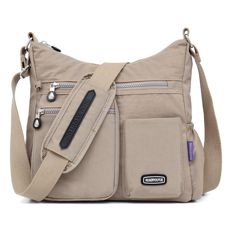 Fashion High Quality Handbag Female CrossBody Bag Women Shoulder bag Ladies Messenger Bag Nylon waterproof Lady Purse sac a main
