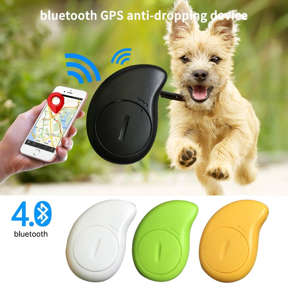Mini Smart Bluetooth GPS Tracker Alarm Key Keychain Pet Dog Tracker Wallet Child Carphon Phone Anti Lost