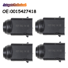 4 pcs PDC Parking Sensor For Mercedes Benz W163 W164 W203 W210 W220 CL500 0015427418 0035428718 A0015427418 car accessories