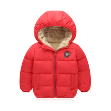 Baby Boys Jacket 2020 Autumn Winter Jacket For Boys Coat Kids Warm Outerwear Coat For Boys Clothes Children Jacket 2 3 4 5 Year cheap KEAIYOUHUO Fashion Polyester Cotton Solid Regular Hooded Outerwear Coats Full Fits true to size take your normal size
