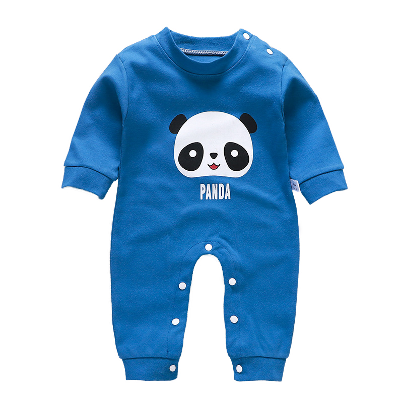 Little Hedgehog Infant Baby Boys Girls Clothing Shirts Long Sleeves Rompers Jumpsuit