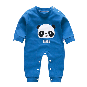 Baby Rompers Kid Boys Girls Long-Sleeve Cartoon Infant Cotton Jumpsuit Comfortable Toddler Climbing Newborn Outerwear Clothes