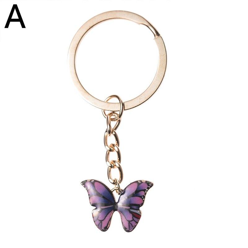 Love Butterfly AccessoryNorigaeKorean StyleLove Butterfly \ud0a4\ub9c1 \uc0ac\ub791\ub098\ube44 Pink, Grey Keychain